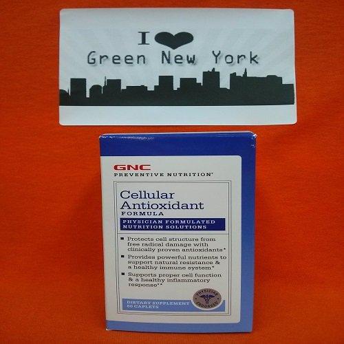 GNC NutritionCellular preventiva antioxidante fórmula 60 cápsulas