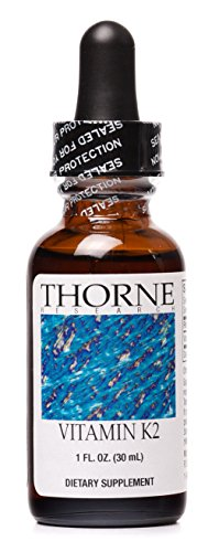 Thorne Research - líquido de la vitamina K2 (1 mg/gota) - 30 ml