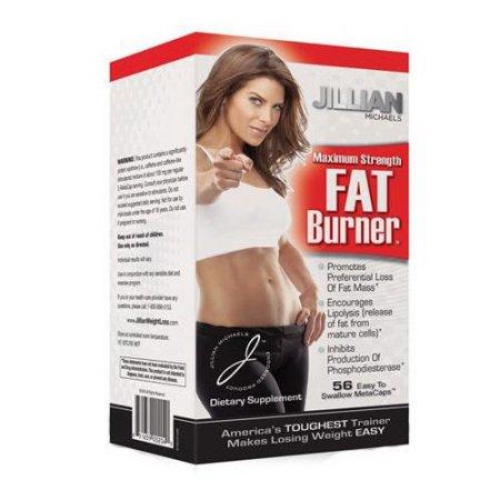 Jillian Michaels Maximum Strength quemador de grasa MetaCaps - 56 Ea 6 Pack