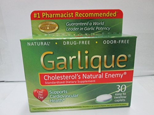 Garlique colesterol Natural enemigo tabletas - 30 ea (pack 3)