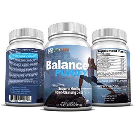 Balance Purify 90 Capsulas para Limpiar el colon