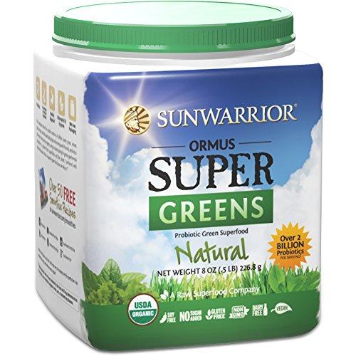 Sunwarrior - Ormus Supergreens, Natural 8 oz.