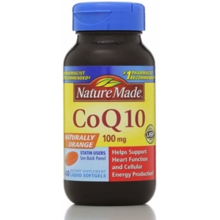 Nature Made CoQ10 100 mg Softgels 40 ea