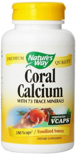 Forma Coral calcio de la naturaleza 180 Vcaps