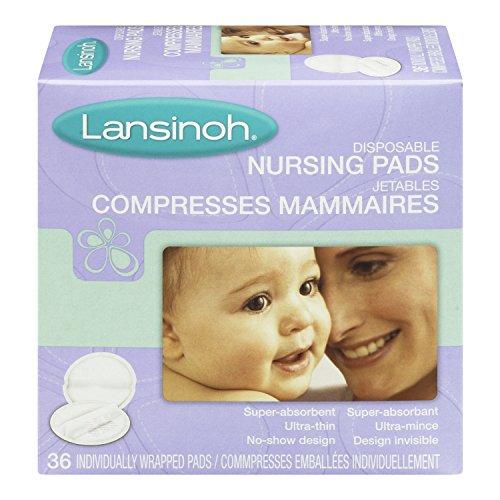 Lansinoh 20236 pastillas de enfermería disponible, cuenta 36