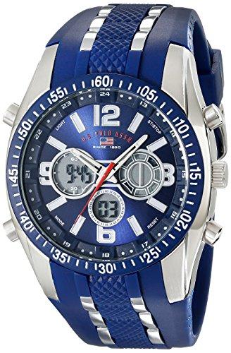 US9284 Cronógrafo Analógico Digital relojes U.S. Polo Assn. hombres Sport