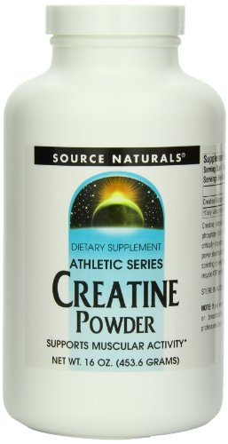 Source Naturals creatina en polvo, 16 onzas
