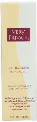 """pH había equilibrado cuerpo lavado 6oz, mejor femenino limpiador íntimo, olor de dulces, ayuda a prevenir el crecimiento excesivo de bacterias y levaduras. Todo Natural, no secado. Dermatólogo probado y aprobado. OBgyn.net del """"Sello de aprobación""""."""