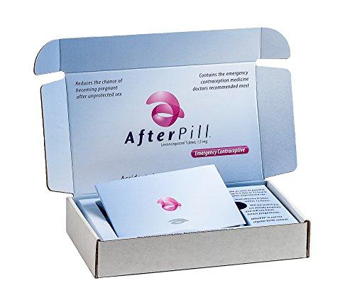 AfterPill píldora anticonceptiva de emergencia - 1 Pack