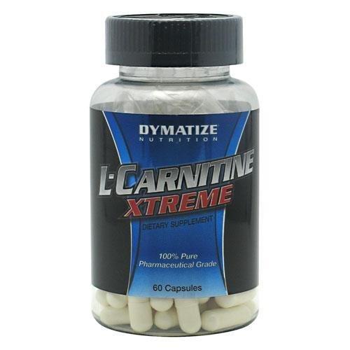 Dymatize L-Carnitine Xtreme - 500 mg - 60 cápsulas