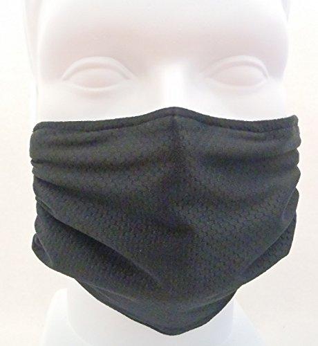 Respirar sano panal negro Máscara - máscara de la gripe, mascarilla, mascarilla de alergia - cómodo, reutilizable - protección contra polvo, polen, alérgenos y gérmenes de la gripe