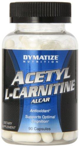 Nutrición de Dymatize Acetyl L-Carnitine, 90 cápsulas