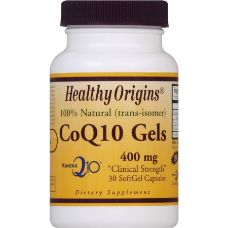 Healthy Origins CoQ10, 400 mg, SoftGel Cápsulas, 30 CT