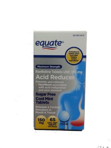 Igualar la fuerza máxima antiácido menta fresca tabletas 150mg ct 65 comparar a menta fresca 150 tabletas de Zantac