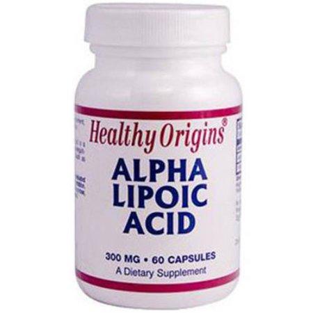Healthy Origins ácido alfa-lipoico vitaminas múltiples cápsulas 60 CT