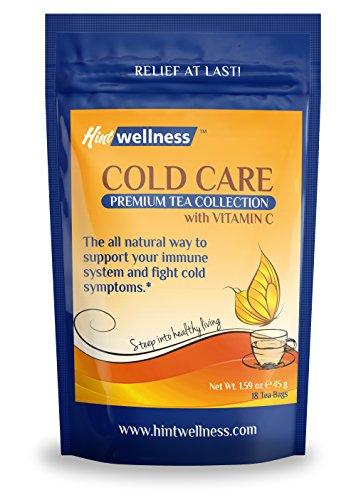 Frío cuidado con vitamina C - Booster inmune Natural - mezcla de té de hierbas para apoyo inmune - por sugerencia de bienestar - 45g
