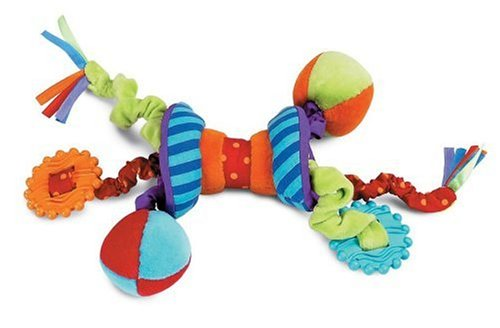 Manhattan Toy Ziggles sonajero y mordedor juguete de desarrollo