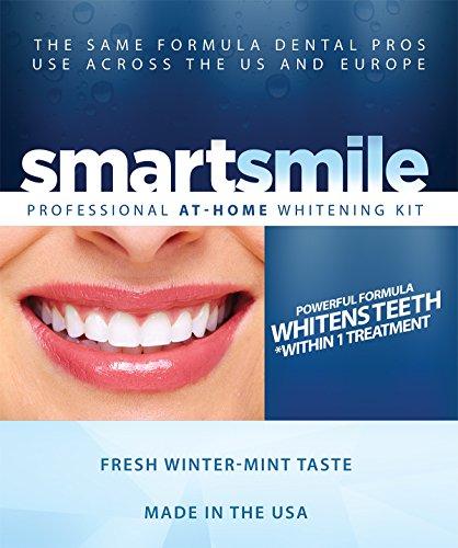 Kit - con carbamida 35% blanqueamiento dental Smartsmile profesional peróxido Gel y bandejas de termoformado