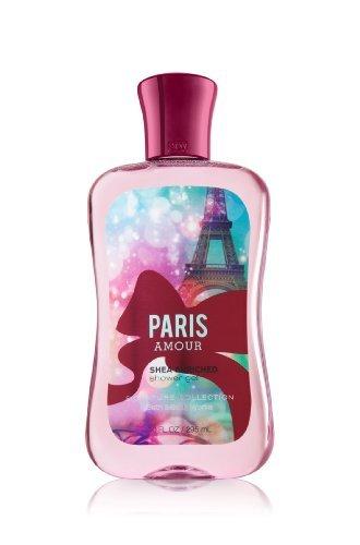 Baño y cuerpo funciona Paris Amour karité enriquecida Gel de ducha 10 Oz