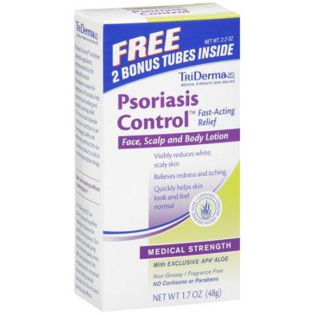 TriDerma® Psoriasis Control ® crema ayuda a reducir el enrojecimiento y Itchy piel escamosa (17 oz) de