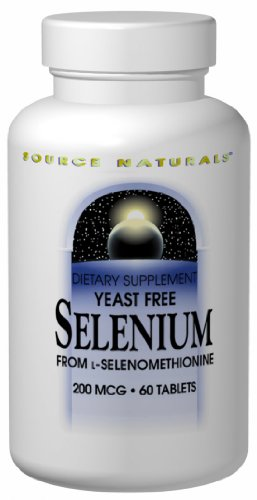 Source Naturals selenio 200mcg, 120 tabletas