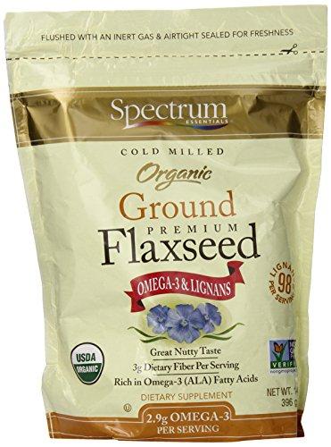 Espectro esencial linaza orgánica Grnd esencial 14 Oz