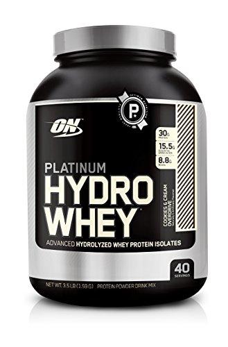 La nutrición óptima platino Hydrowhey galletas y crema Overdrive, 3.5 libras