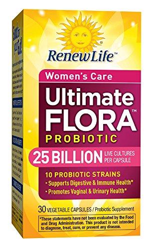 Renovar la vida Ultimate Flora probiótica Formula, cuidado de la mujer, cuenta 30