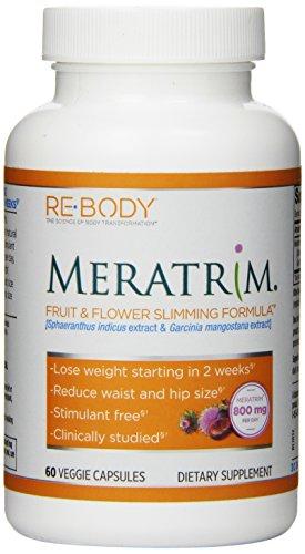 Volver a cuerpo Meratrim fruta y flor cápsulas, 400 mg, 60 cuenta