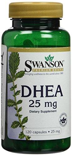Swanson Premium DHEA 25mg - 120 cápsulas