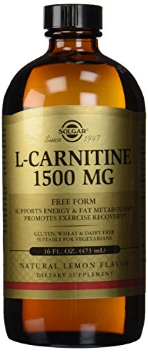 Solgar L-carnitina líquida, 1500 mg, 16 onzas