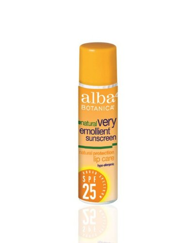 Alba Botanica Lipcare Spf 25 Spf, 0,15 onzas