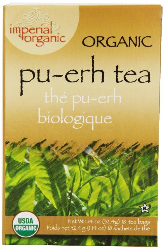 Té orgánico Imperial, Pu-Erh, 18 bolsitas de té