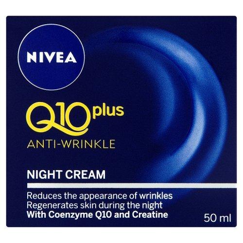 Nivea Visage Q10 Plus creatina Anti arrugas noche crema de 1.7oz. / 50ml