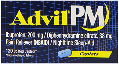 Advil PM, comprimidos recubiertos, 120-Conde