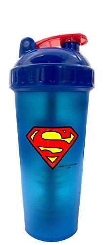 Vibrador perfecto héroe serie Superman Shaker Cup, 28 onzas (800ml)