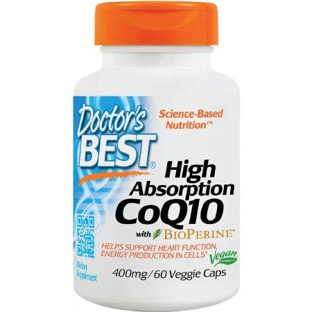Doctor's Best Alta absorción de CoQ10 400 mg, 60 CT