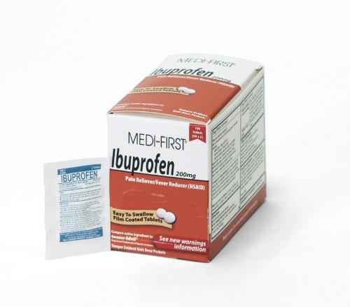 Medique productos 80833 Medi-primer ibuprofeno, tabletas de 100, 50 X 2