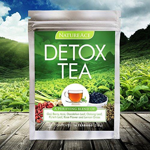 Naturaleza as té de desintoxicación de 14 días 100% Natural - #1 clasificado por expertos de todo el mundo - mejor cuerpo Herbal Cleanse, adelgazar y té de la pérdida de peso - también para el hígado y desintoxicación de la piel
