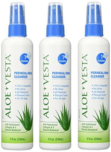 Aloe Vesta® Perineal, piel limpiador, botella de 8 oz - paquete de 3