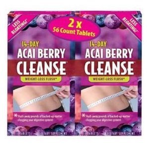Acai Berry Cleanse 2 / 56 cajas CT.