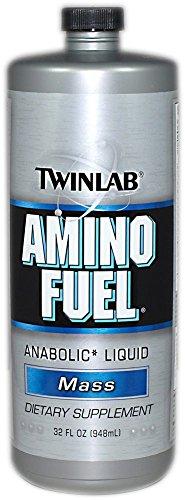 Twinlab Amino Fuel líquido anaranjado de Rush-32