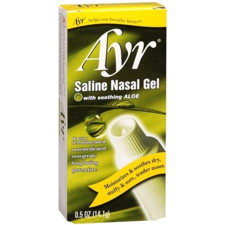 Ayr Saline Nasal Gel 050 oz (paquete de 6)