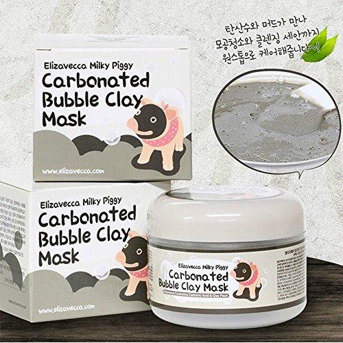 Elizavecca lechosa Piggy gas burbuja máscara de arcilla