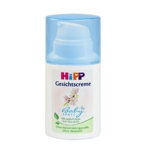 HiPP bebé suave crema facial 50ml (1,69 Oz.) con aceite de almendra orgánico