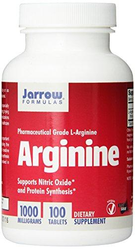 Jarrow Formulas L-arginina 1000mg, 100 tabletas