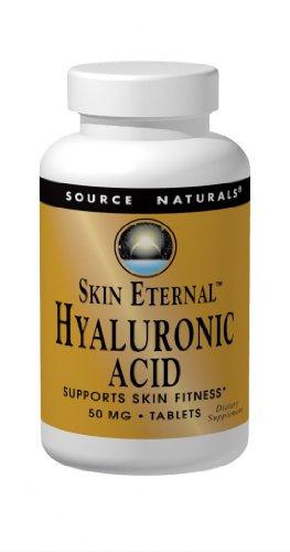 Source Naturals piel eterna ácido hialurónico 50mg, 120 tabletas