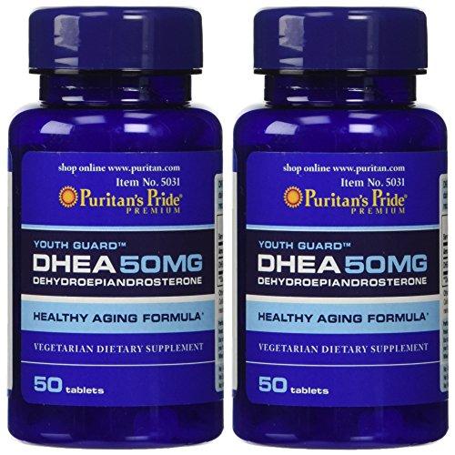Puritans Pride DHEA 50 mg 100 Caps