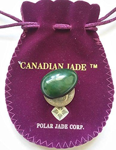 Polar Jade nefrita Jade huevo, centro perforado, de tamaño pequeño para usuarios intermedios y avanzados para el fortalecimiento de los músculos del suelo pélvico en ejercicio Kegel para apretar la Vagina