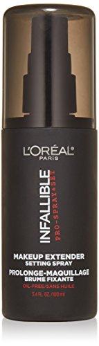 Cosméticos de l ' Oreal Paris infalibles Pro Spray y maquillaje extensor, ajuste de pulverización, 3.4 onzas líquidas